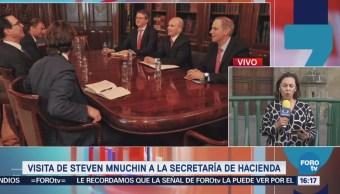 González Anaya Reúne Steven Mnuchin