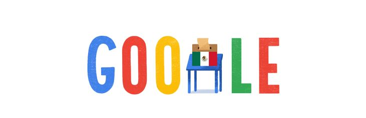 Google dedica doodle a las elecciones históricas