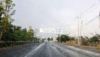 granizo afecta carretera san miguel allende dolores hidalgo guanajuato