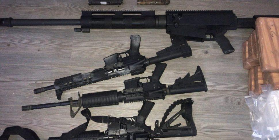 Grupo de Coordinación Tamaulipas asegura droga y armamento