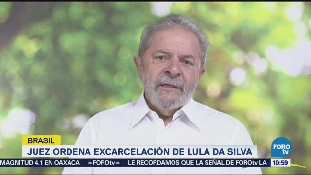 Ordenan Liberar Expresidente Luiz Inácio Lula Silva