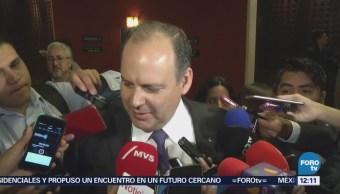 Gustavo de Hoyos, satisfecho de reunión con López Obrador