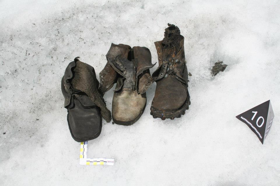Cadáveres atrapados en glaciares suizos resurgen por calentamiento global