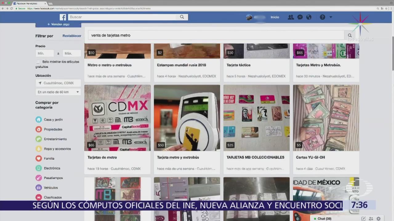 Hay negocio de recarga ilegal de tarjetas del Metro y Metrobús CDMX