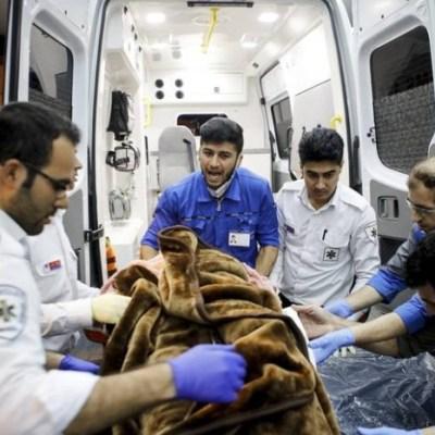 Sismo de magnitud 5.9 sacude a Irán; hay al menos 26 heridos