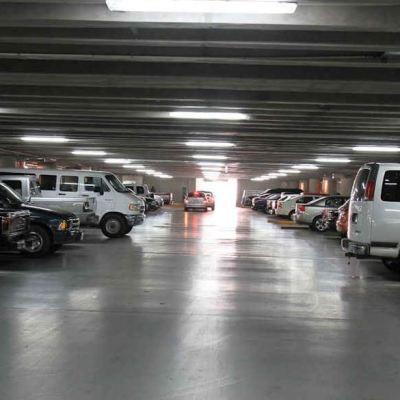 Fotografía de un estacionamiento en la delegación Benito Juárez
