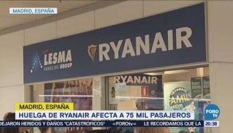 Huelga Aerolínea Ryanair Afecta Miles España