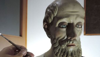 INAH restaura imágenes de culto afectadas en sismo del 19S