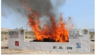incinera pgr mas 700 kilos marihuana y otras drogas ciudad juarez