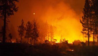 Desalojan a más de 10 mil personas por incendios forestales