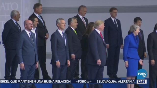 Inicia cumbre de la OTAN en Bruselas, Bélgica