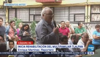 Inicia rehabilitación del Multifamiliar Tlalpan