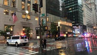Investigan hallazgo paquetes sospechosos Torre Trump NY
