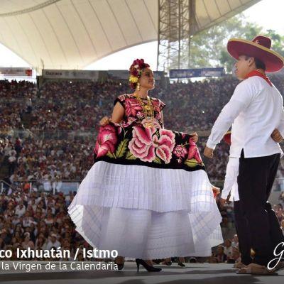 Concluyen las fiestas de la Guelaguetza en Oaxaca