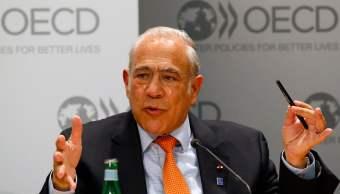 OCDE felicita a López Obrador y le ofrece apoyo