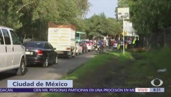 Joven muere atropellado en la carretera Picacho Ajusco