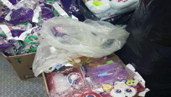 Aseguran más de dos mil juguetes apócrifos en la CDMX