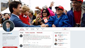 Trudeau pierde 30,000 seguidores en Twitter