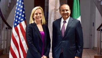 Navarrete Prida se reunió con Kirstjen Nielsen en Washington