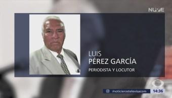 Asesinan Periodista Luis Pérez García Cdmx