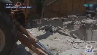 Empiezan Trabajos Reconstrucción Edifico Multifamiliar Tlalpan