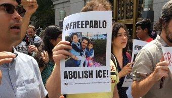 Liberan migrante ecuatoriano entregaba pizza base militar NY