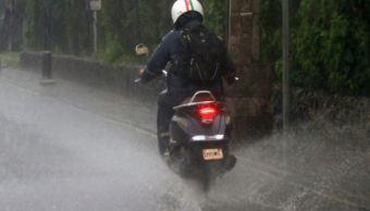 Activan Alerta Amarilla en cuatro delegaciones por lluvia