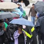 Prevén lluvias muy fuertes este sábado en el Valle de México