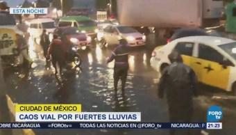 Lluvia Inundaciones Encharcamientos Ciudad de México, Tráfico