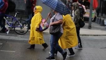 Se registra granizo y encharcamientos en Ciudad de México