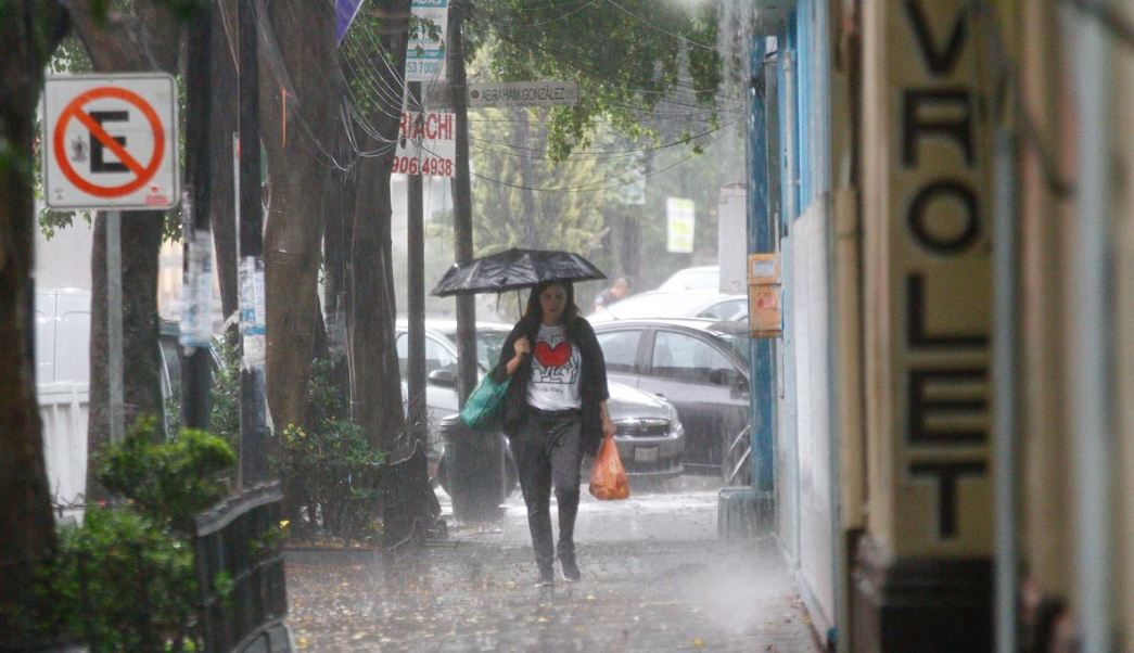 Activan alerta amarilla por lluvias en CDMX
