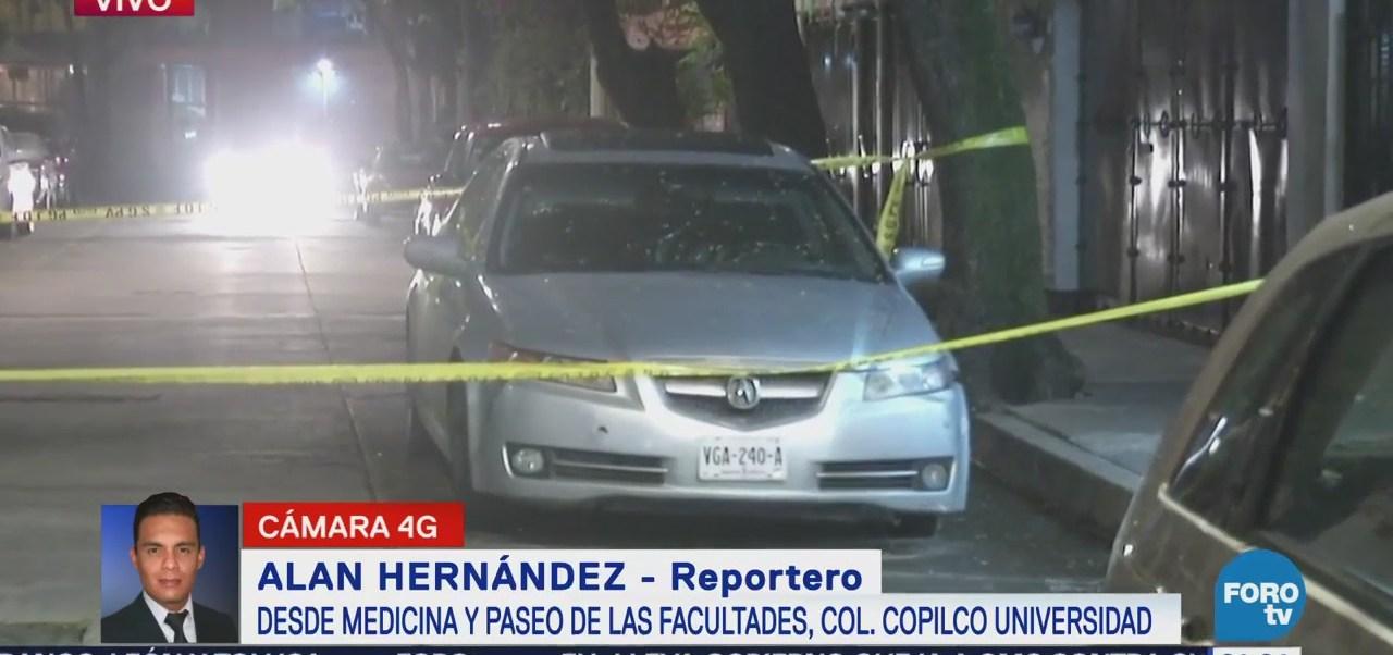 Localizan cuerpo dentro de automóvil en Copilco