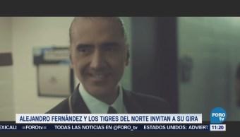 #LoEspectaculardeME: Alejandro Fernández y Los Tigres del Norte realizarán gira en EU