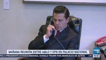 López Obrador Anuncia Reunión Peña Nieto