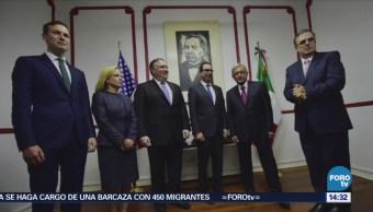 López Obrador Toma Foto Delegación Alto Nivel Eu