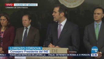 Lorenzo Córdova: Elecciones 2018 han sido las más incluyentes