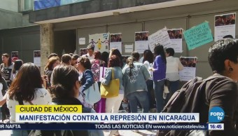 Manifestación Contra Represión Nicaragua Daniel Ortega