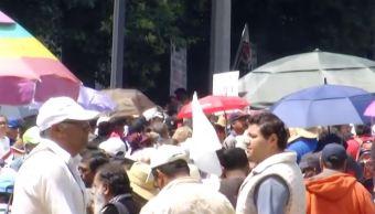 Manifestantes bloquean calzada Chivatito, en CDMX