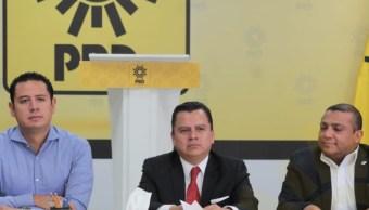 PRD va unido en proceso de refundación del partido
