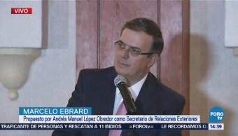 Marcelo Ebrard Excelente Reunión Entre López Obrador Mike Pompeo