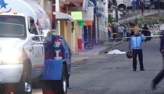 Matan a operador de pipa en la delegación Gustavo A. Madero