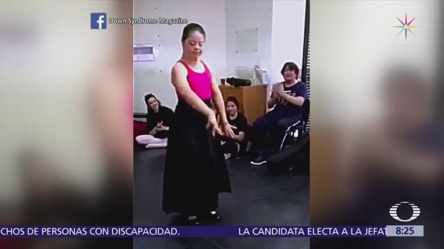 Mexicana con Síndrome de Down demuestra su talento en el flamenco