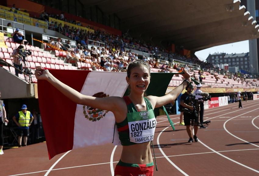 Dos mexicanos se coronan en Mundial de Atletismo sub 20