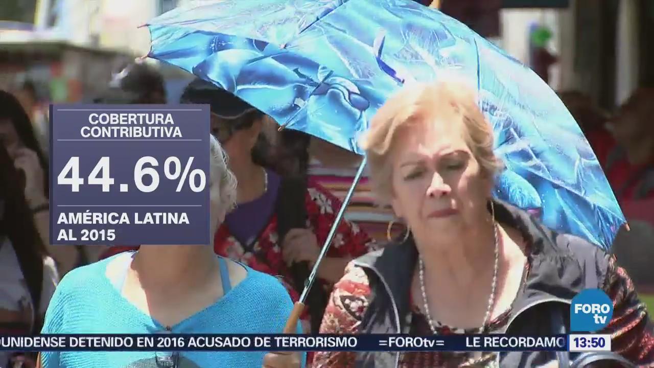 México, estancado en pensiones OIT