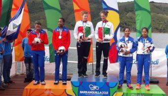 México gana tres oros en remo en Barranquilla 2018