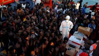 UE propone pagar a países que acepten a migrantes rescatados