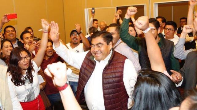 Barbosa acusa 'brazo largo' de Moreno Valle