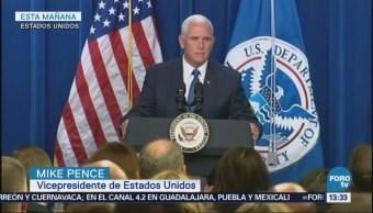Mike Pence Defiende Labor Servicio Inmigración