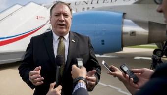 Pompeo tratará desnuclearización Corea del Norte con Japón