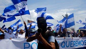 Miles opositores exigen renuncia Ortega violencia Nicaragua
